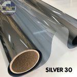 Phim cách nhiệt CNC Silver 30, Phim nhà kính độ xuyên sáng cao